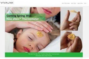 Fièvre de l'enfant : un autocollant pour prendre la température