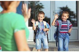"""Conseil de pédiatre : """"Evitez les adieux interminables le jour de la rentrée"""""""