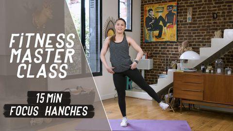 exercice hanches