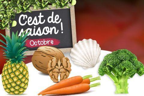 Octobre : fruits, légumes et poissons de saison
