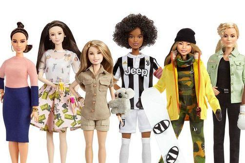 Barbie rend hommage au sport féminin pour la journée de la femme