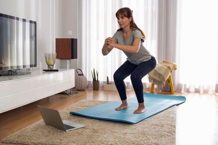 Sport à la maison anti-cellulite