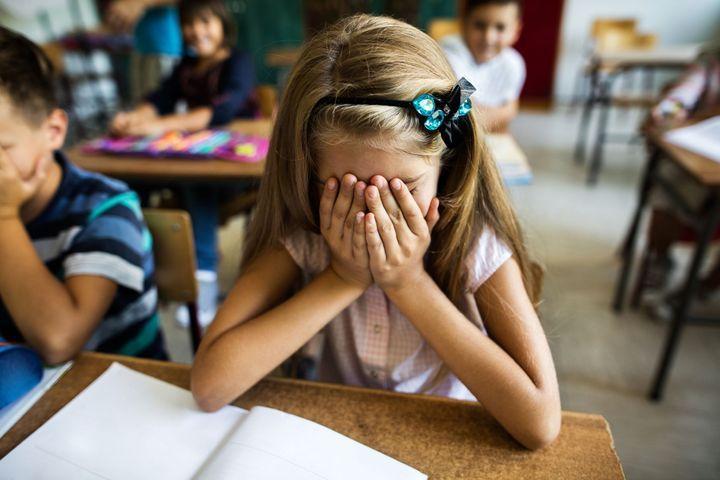 Le stress de l'enfant à l'école
