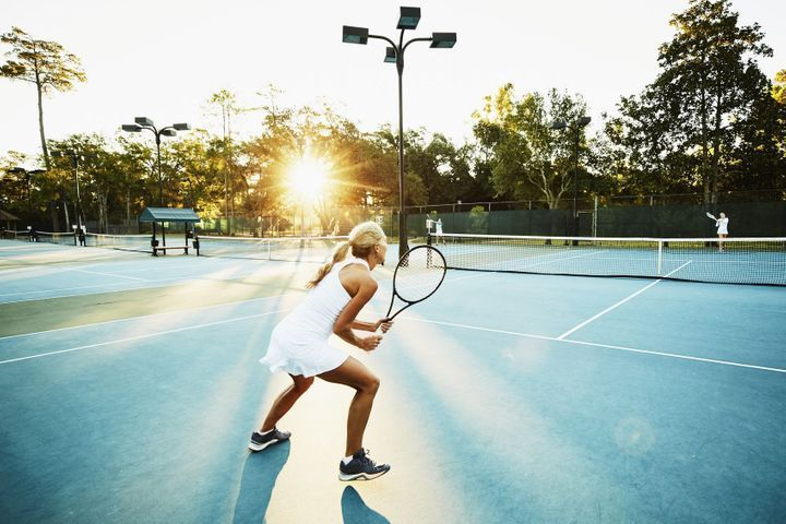 tennis : retour gagnant