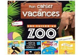 Sélection de cahiers de vacances pour l'été