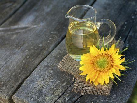 L'huile de tournesol, pour les peaux sèches