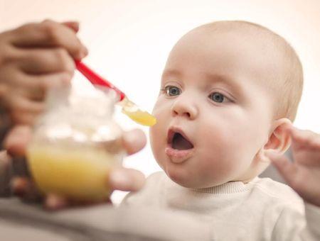 Menus pour bébés de 0 à 12 mois