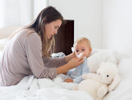 Soigner le rhume de bébé