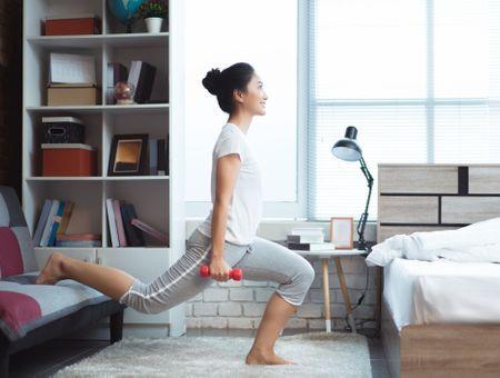 Mes exercices à faire à la maison pour perdre du poids