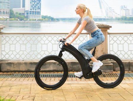 Découvrez l'aspect improbable du vélo de demain