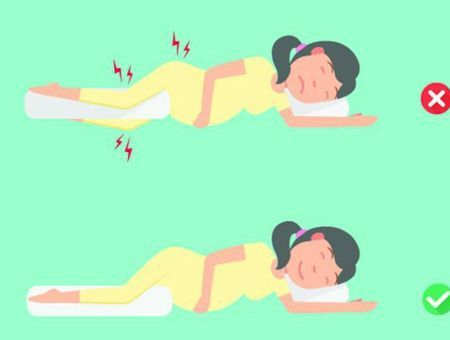 Les positions de sommeil spécial femmes enceintes