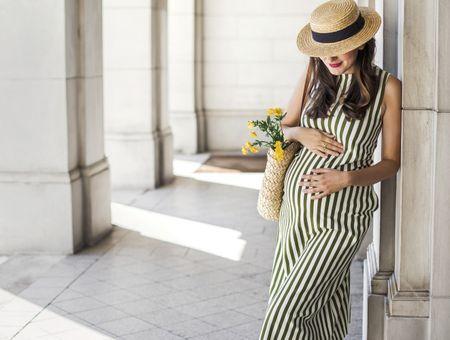 Robe et combi de grossesse : Notre sélection pour cet été