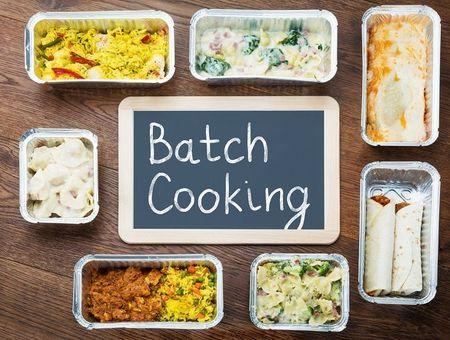 Batch cooking : préparer ses menus pour la semaine en 2 heures chrono