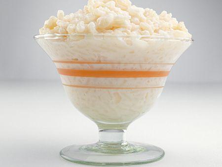 Riz au lait facile et confiture de lait
