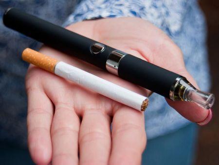 La cigarette électronique en question