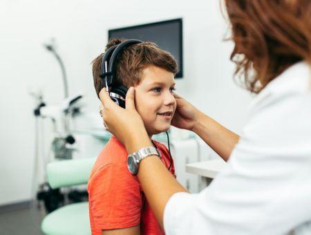 Dépistage des troubles de l'audition chez l'enfant