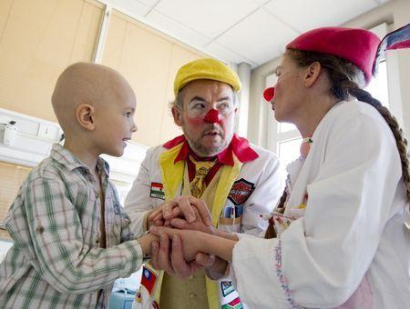 Clown à l'hôpital, c'est tout un métier !