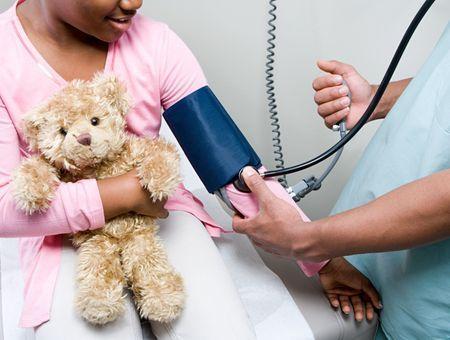 Hypertension artérielle de l'enfant (H.T.A.)