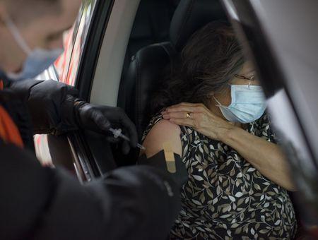 Au Texas, on se fait vacciner au volant