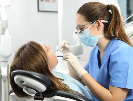 Visite de contrôle chez le dentiste