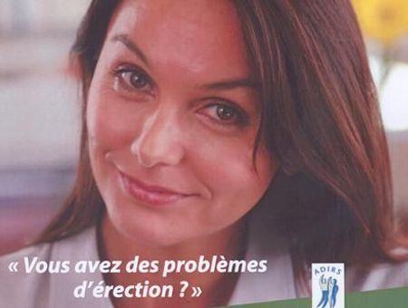 """""""Vous avez des problèmes d'érection ?"""" Campagne d'informations sur les troubles de l'érection (2006)"""