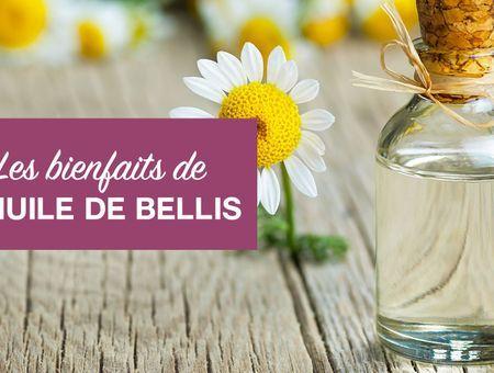 Beauté : les bienfaits de l'huile de bellis