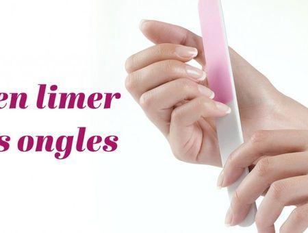 Comment limer ses ongles sans les abîmer ?
