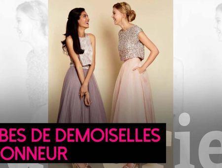 Idées de robes pour vos demoiselles d'honneur