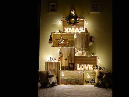 8 alternatives au traditionnel sapin de Noël