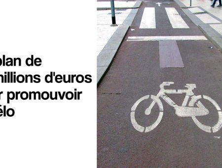 Un plan gouvernemental pour promouvoir le vélo