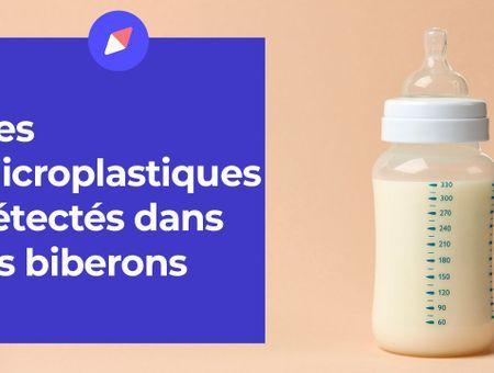 Des microplastiques détectés dans les biberons