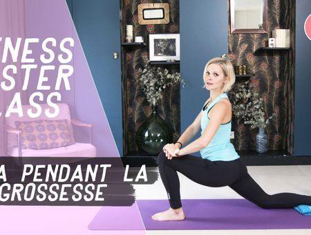 Yoga pendant la grossesse (20 min) – Fitness Master Class
