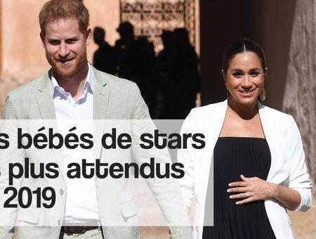 Les bébés de stars les plus attendus de 2019
