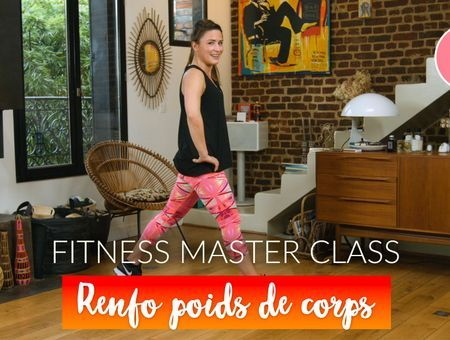 Renforcement musculaire en poids de corps  (30 min) – Fitness Master Class