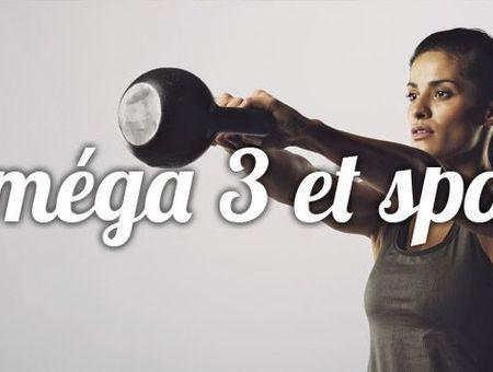 Existe-t-il des bienfaits des Oméga 3 pour la pratique sportive ?