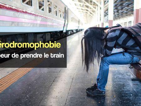 La sidérodromophobie ou la peur de prendre le train