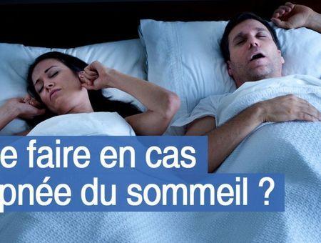 Que faire en cas d'apnée du sommeil ?