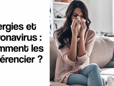 Allergies et coronavirus : comment les différencier ?