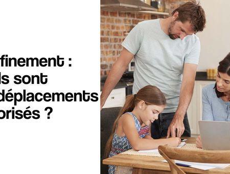 Confinement : quels sont les déplacements autorisés ?