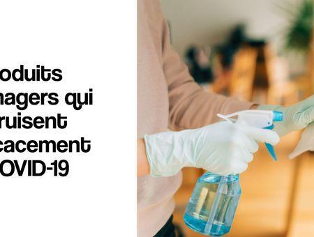 Coronavirus : 4 produits pour désinfecter les surfaces