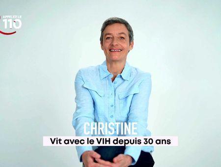 #Sidaction - Le témoignage de Christine, séropositive depuis 30 ans