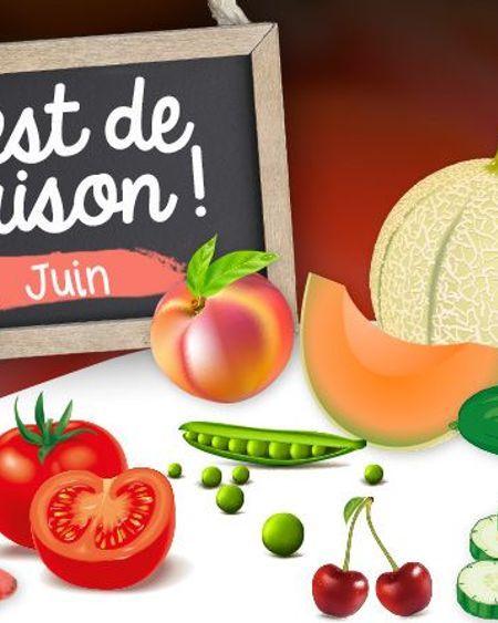 Quels aliments consommer en juin ?