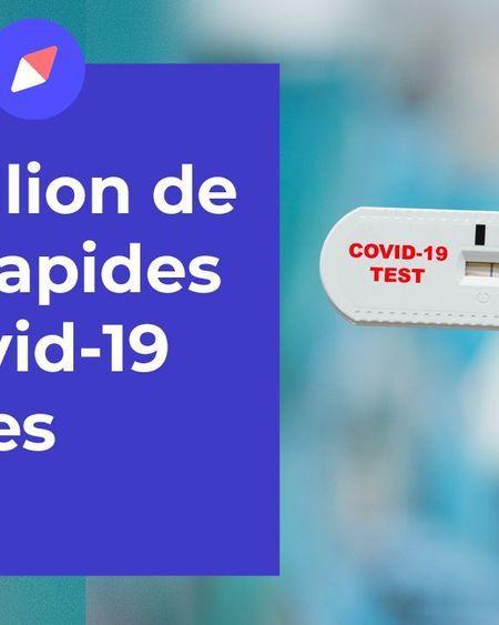 Un million de tests rapides mis en place dans les écoles
