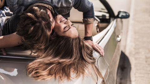 amour en voiture