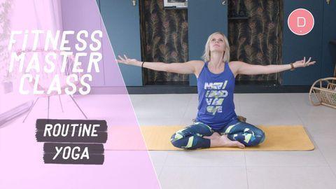 routine yoga detente