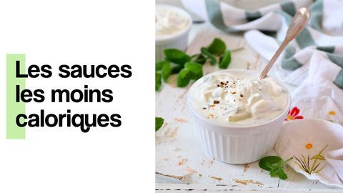 Les sauces les moins caloriques