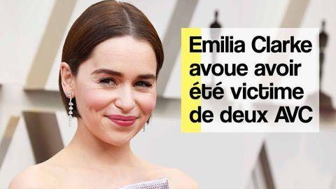emilia clarke avc