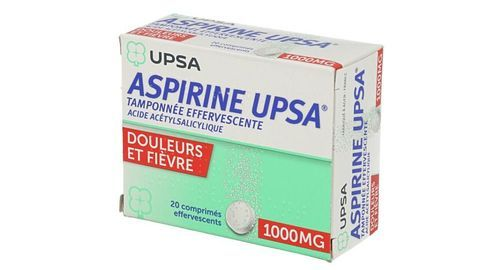 ASPIRINE UPSA TAMPONNEE