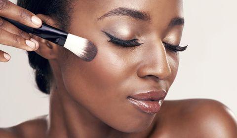 beauté noire maquillage des yeux