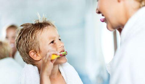 Initier son enfant à l'hygiène